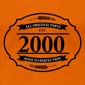 All original Parts 2000 T-Shirts - Frauen Premium T-Shirt