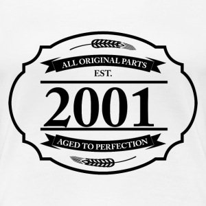 All original Parts 2001 T-Shirts - Frauen Premium T-Shirt