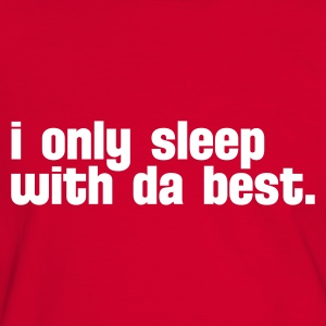 Rouge/blanc i only sleep with da best T-shirts - T-shirt contraste Homme
