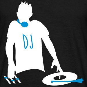 DJ,Clubs, DJ, Electro - Men's T-Shirt