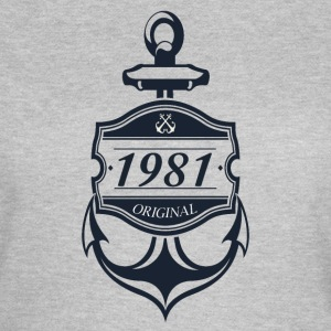 Anker 1981 T-Shirts - Frauen T-Shirt