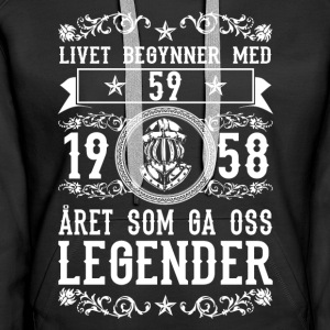1958 - 59 ar - Legender - 2017 - NO Hoodies & Sweatshirts - Women's Premium Hoodie