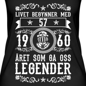 1960 - 57 ar - Legender - 2017 - NO Tops - Women's Organic Tank Top