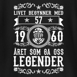 1960 - 57 ar - Legender - 2017 - NO Tee shirts manches longues Bébés - T-shirt manches longues Bébé