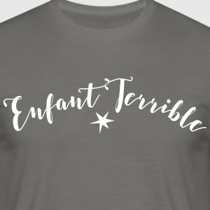 enfant terrible1 - Männer T-Shirt