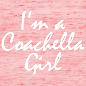 Coachella Girl Red - Frauen Tank Top von Bella