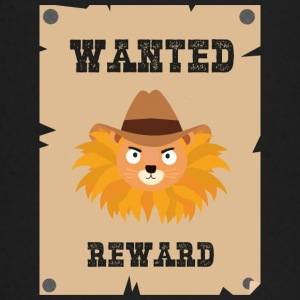 Wanted Wildwest lion poster Stg7j Camisetas de manga larga bebé - Camiseta manga larga bebé