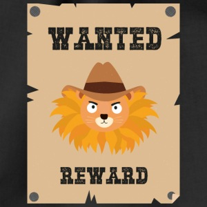 Wanted Wildwest lion poster Sinxg Bags & Backpacks - Drawstring Bag