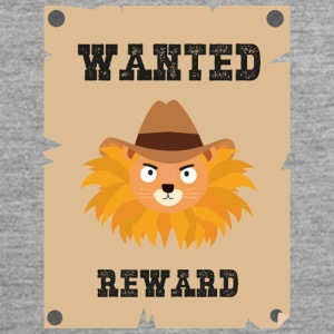 Wanted Wildwest lion poster Sinxg Ropa deportiva - Tank top premium hombre
