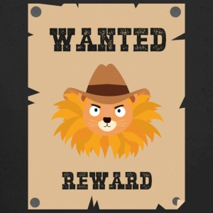 Wanted Wildwest lion poster Sinxg Baby Bodysuits - Longlseeve Baby Bodysuit