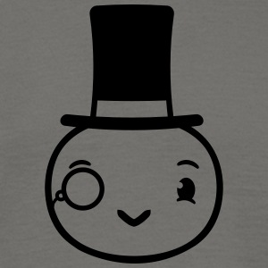 Sir mr gentlemen caterpillar monocle glasses stick T-Shirts - Men's T-Shirt