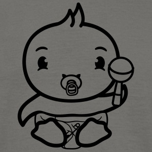 play sut ble rangle chick søde søde lille baby bar T-shirts - Herre-T-shirt