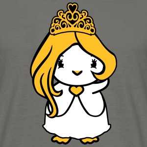 Princess queen crown queen girl girl woman female  T-Shirts - Men's T-Shirt