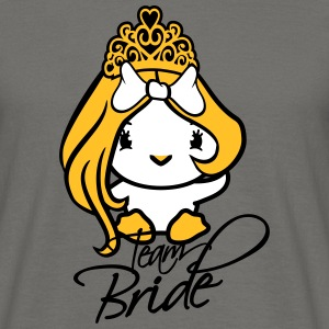 prinsesse dronning dronning hold bruden bruden bac T-shirts - Herre-T-shirt