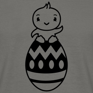 Easter celebrate bunny chicken easter egg eggs loo T-Shirts - Men's T-Shirt