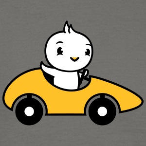 Chick, fun, waving, car, driving, license, fast, r T-Shirts - Men's T-Shirt