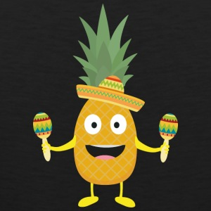 Pineapple Fiesta Sombrero Party Slm5s Sports wear - Men's Premium Tank Top