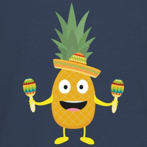 Ananas Fiesta Sombrero Party Slm5s Manches longues - T-shirt manches longues Premium Ado
