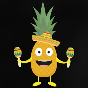 Pineapple Fiesta Sombrero Party Slm5s Baby Shirts  - Baby T-Shirt