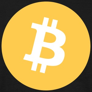 Bitcoin Logo T-Shirts - Men's T-Shirt
