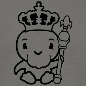 heerser koning, prins kroon scepter comic cartoon  T-shirts - Mannen T-shirt