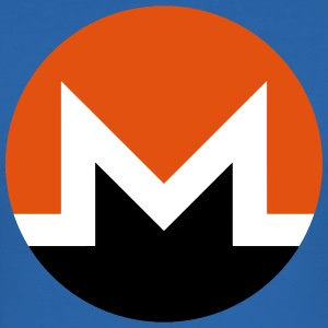 Monero Logo T-Shirts - Men's Slim Fit T-Shirt