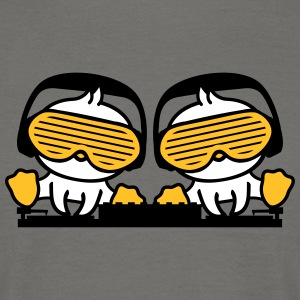 2 friends team couple duo club mixing sunglasses s T-Shirts - Men's T-Shirt