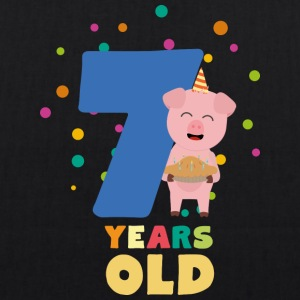 Seven Years old Seventh Birthday Party Szchh Bags & Backpacks - EarthPositive Tote Bag