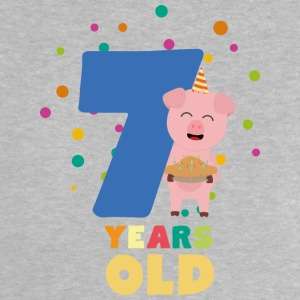 Seven Years old Seventh Birthday Party Szchh Baby Shirts  - Baby T-Shirt