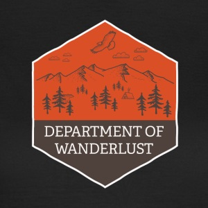Department of Wanderlust and Adventure - Women's T-Shirt