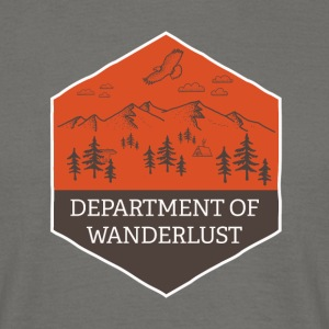 Department of Wanderlust and Adventure - Men's T-Shirt