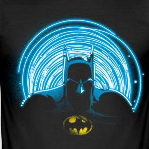 DC Comics Originals Batman Neon Outline - Slim Fit T-skjorte for menn