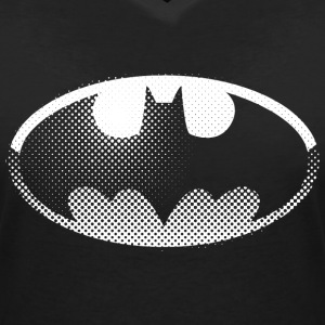 DC Comics Originals Batman Batsignal Logo - T-skjorte med V-utsnitt for kvinner