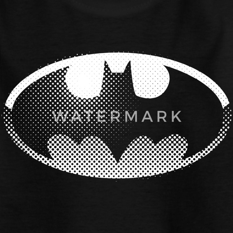 DC Comics Originals Batman Batsignal Logo - Teenager T-shirt