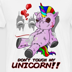 don't touch my unicorn!! - T-shirt Premium Homme