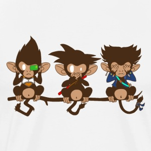 3 monkeys - T-shirt Premium Homme
