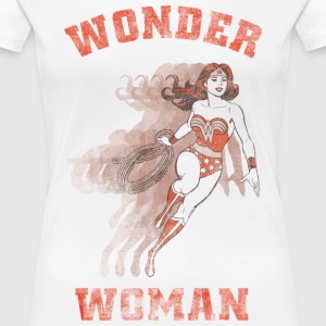 DC Comics Originals Wonder Woman Lasso Rétro - T-shirt Premium Femme