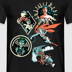 DC Comics Originals Harley Wonder Woman Joker - Mannen T-shirt