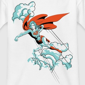 DC Comics Originals Supergirl Vole Rétro - T-shirt Ado