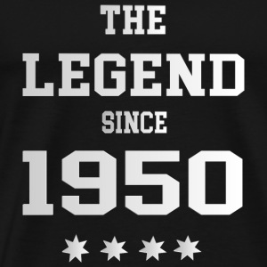 The Legend since 1950 T-Shirts - Männer Premium T-Shirt