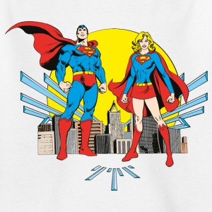DC Comics Originals Superman Und Supergirl - Kinder T-Shirt