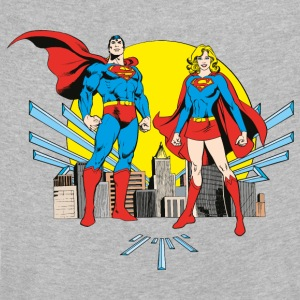DC Comics Originals Superman Und Supergirl - Kinder Premium Langarmshirt