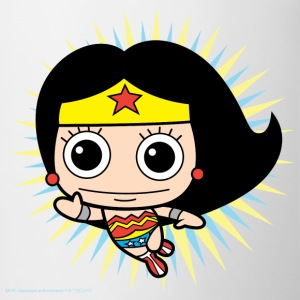 DC Comics Originals Wonder Woman Chibi - Tasse bicolore