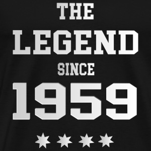The Legend since 1959 T-Shirts - Männer Premium T-Shirt