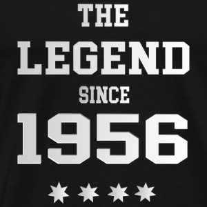 The Legend since 1956 T-Shirts - Männer Premium T-Shirt