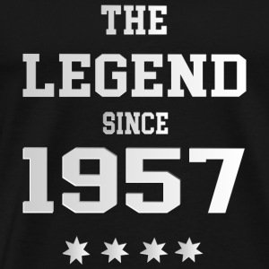 The Legend since 1957 T-Shirts - Männer Premium T-Shirt