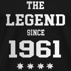 The Legend since 1961 T-Shirts - Männer Premium T-Shirt