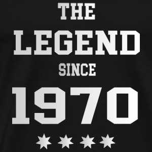 The Legend since 1970 T-Shirts - Männer Premium T-Shirt
