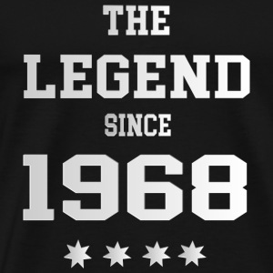The Legend since 1968 T-Shirts - Männer Premium T-Shirt