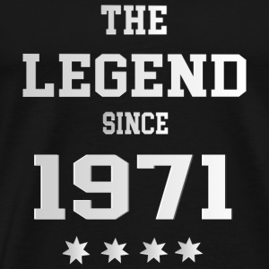 The Legend since 1971 T-Shirts - Männer Premium T-Shirt